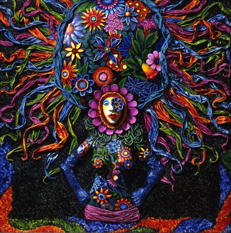 Power of the flower by Skee Goedhart