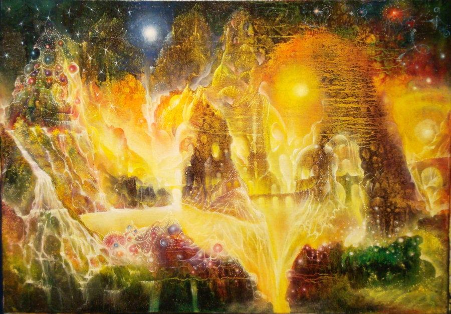 Wizard Merlin's pantry - by Josip Csoor