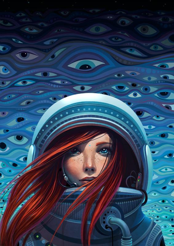 Cosmos -by Lena Snegireva