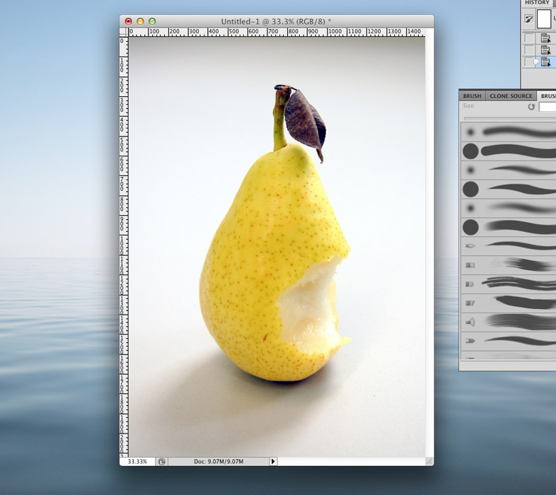 Magic Pear Tutorial Step 01