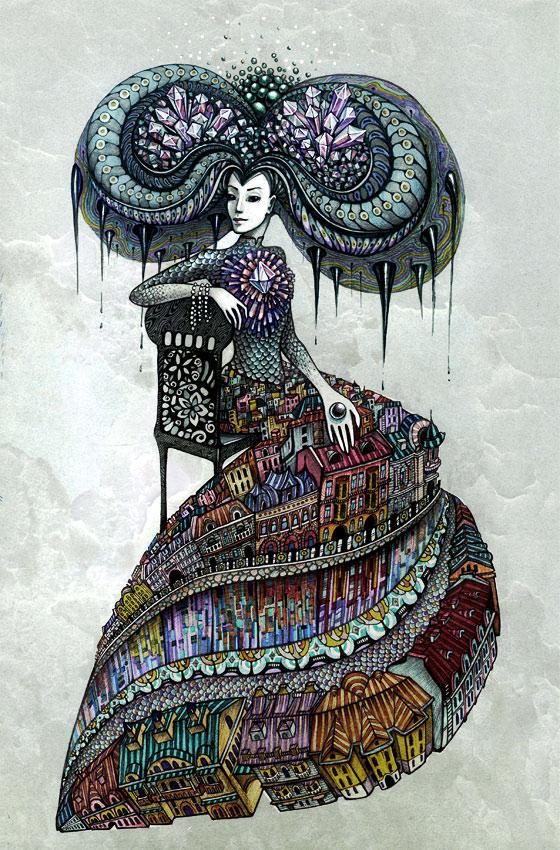 Severnaya -by Lena Snegireva