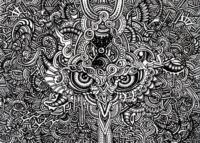 Cornucopia - trippy doodles by Lutamesta