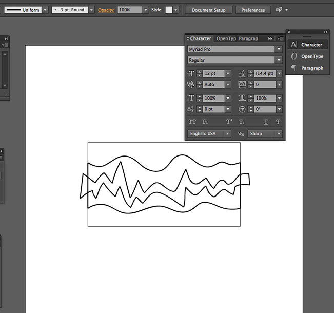 How to create a snake pattern brush tutorial  - Step 05