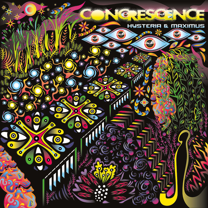 CONCRESCENCE album cover by Andrei Verner