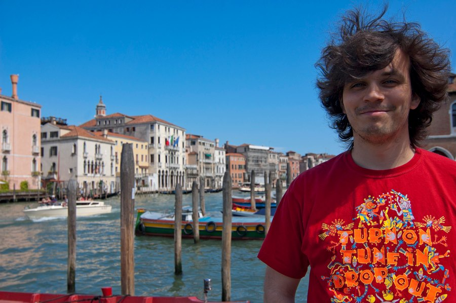 Andrei Verner in Venice, Italy, May 2013 by Marina Nozyer