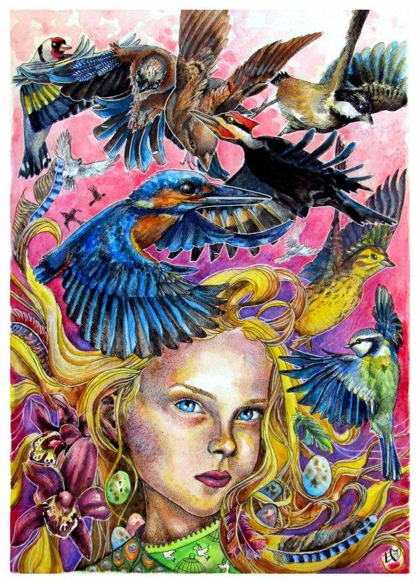 Art by Ester Kittylicious