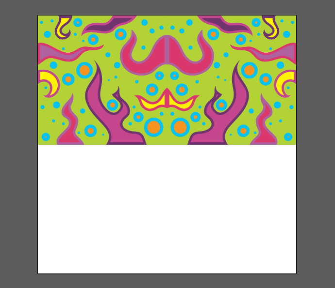 How to make psychedelic vector pattern tutorial - Step 09
