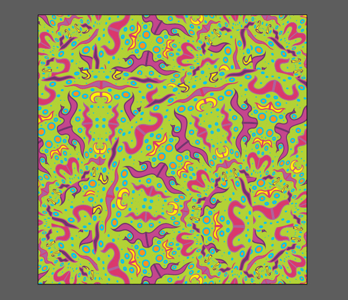 How to make psychedelic vector pattern tutorial - Step 13