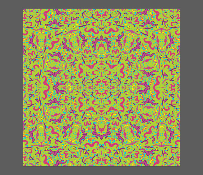 How to make psychedelic vector pattern tutorial - Step 14