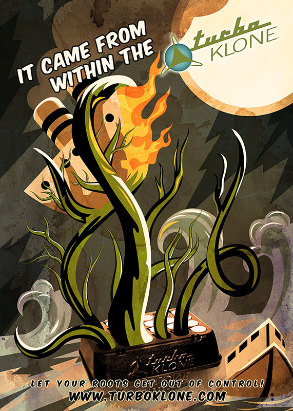It came came from within the TurboKlone poster by Andrei Verner