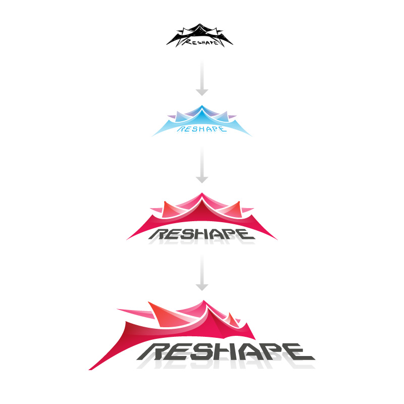 Reshape logo by Andrei Verner