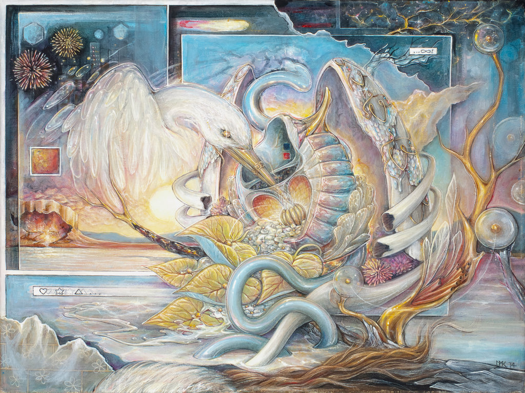 Visionary art of Lindsey Carrell