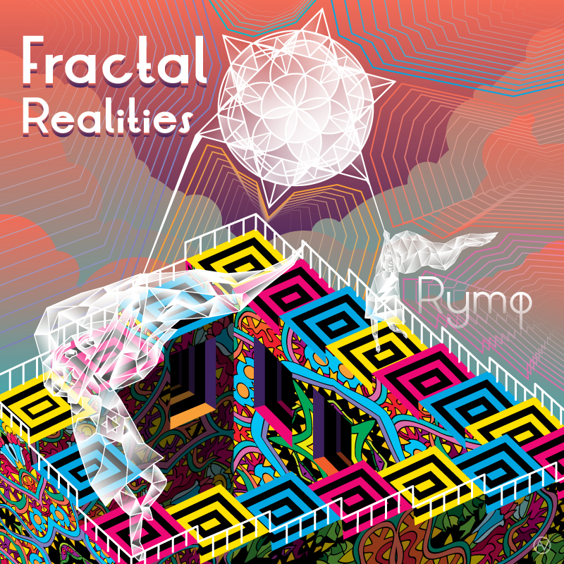 Fractal Realities album cover by Andrei Verner