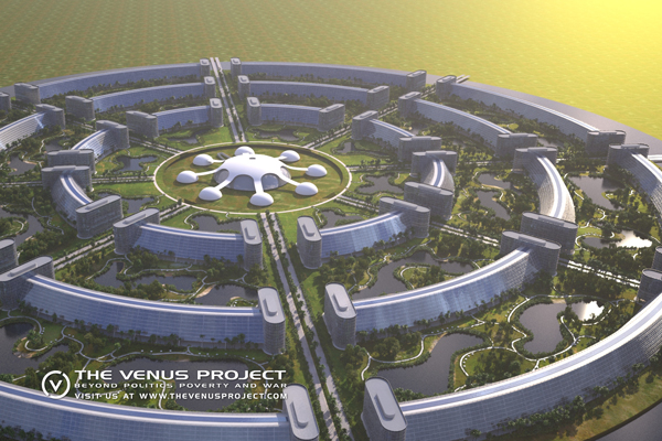 Venus project concept illustration