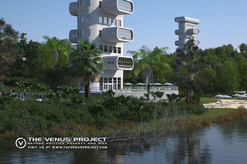 Venus project concept illustration