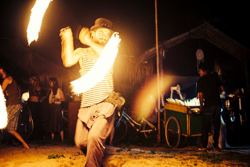 Pirates Retreat performance at Burning Island 2016 Gili Air Indonesia. Photo by Marina Nozyer