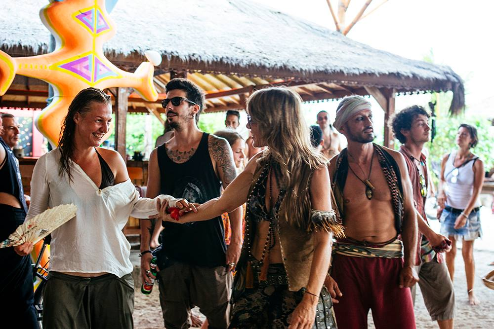 Psytrance festival Burning Island 2016 Gili Air Indonesia. Photo by Marina Nozyer