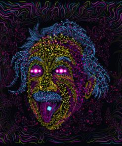 Acid Scientist UV-reactive Tapestry