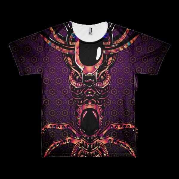 Alien Totem - All Over Print T-shirt
