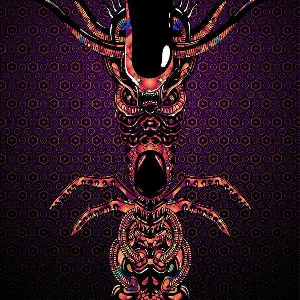Alien Totem - Art