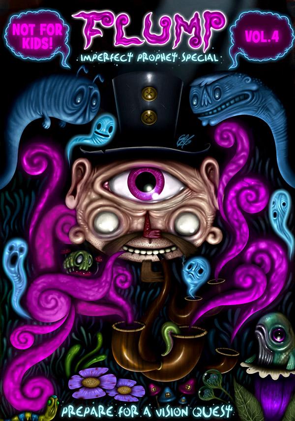Lee Tatlock's Crazy Psychedelic Flump Comix