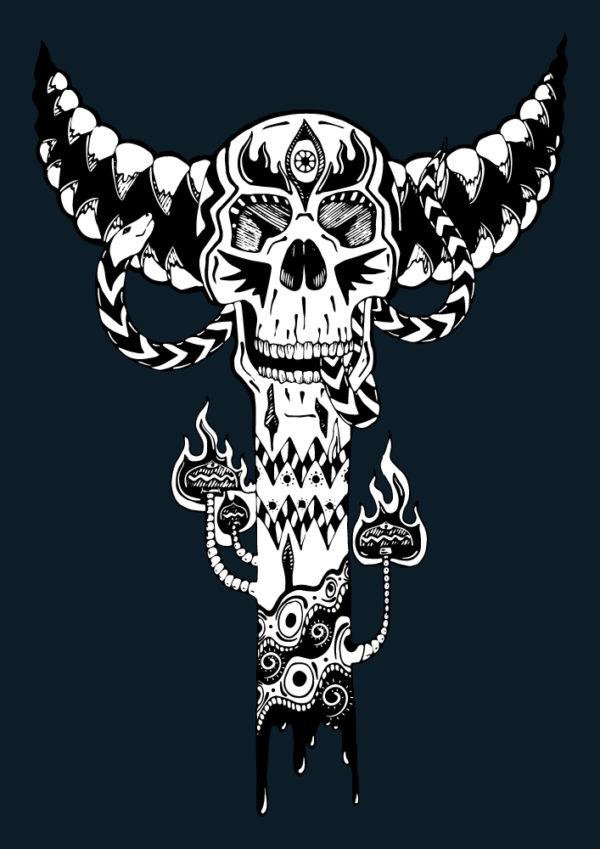 Bone Totem - Isolated Design