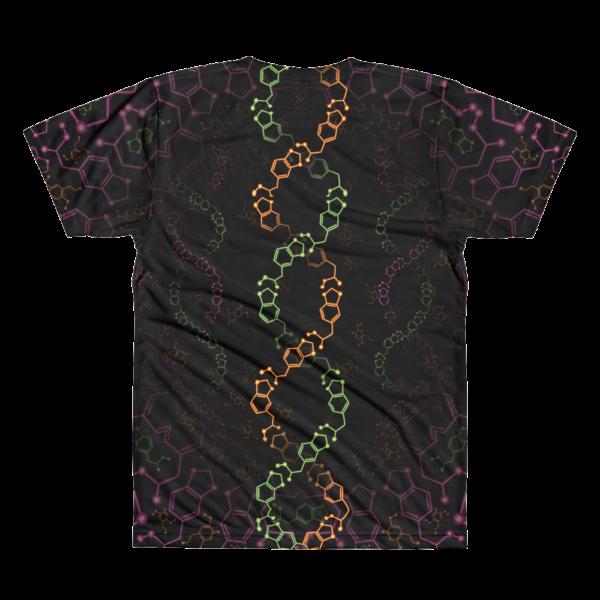 Alexander Shulgin Psychedelic All-Over-Print T-shirt Back