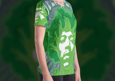 Broccoli Experience Psychedelic Woman's T-shirt