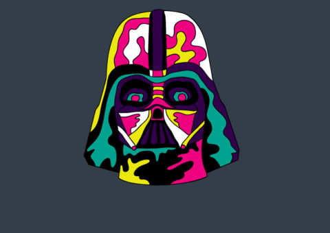 Psychedelic Pins - Vader