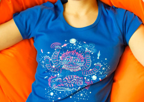 Cheshire's Cat Dream Woman's T-shirt