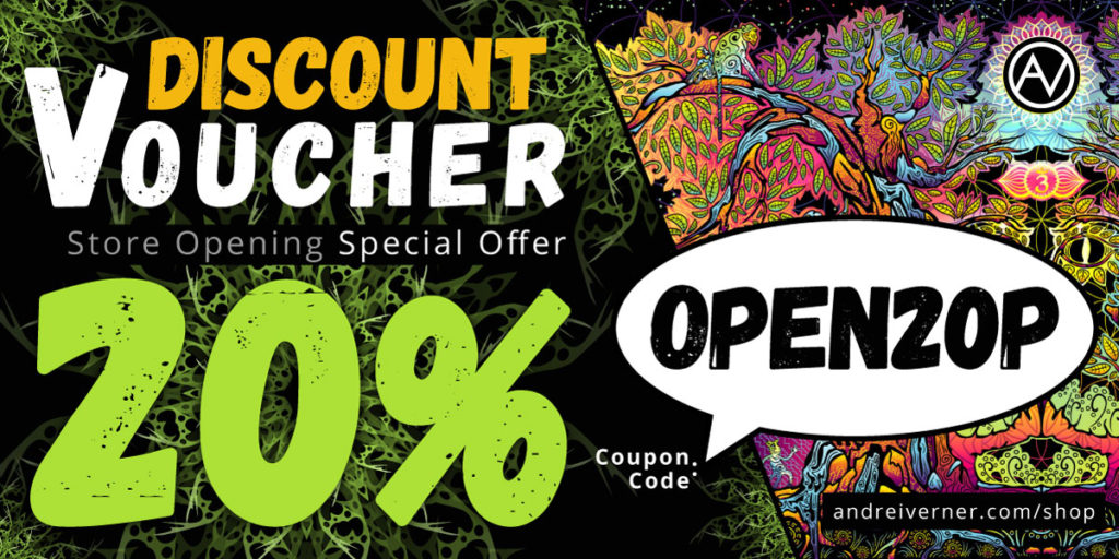 Psychedelic Art Shop Discount Voucher
