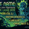 Electric Cthulhu Psychedelic Trance Party Promo Facebook Cover