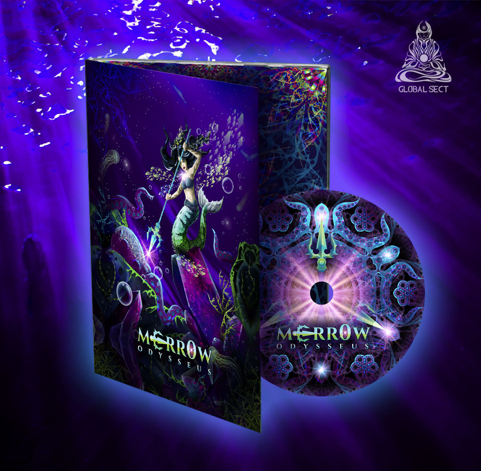 Merr0w Odysseus Album DVD-pack preorder