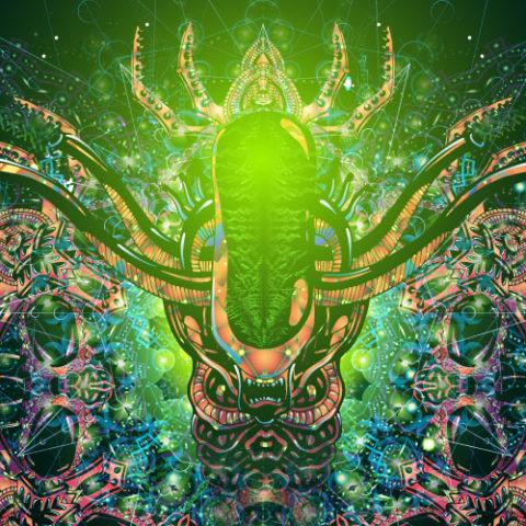 Alien Enlightenment Psychedelic Art Header