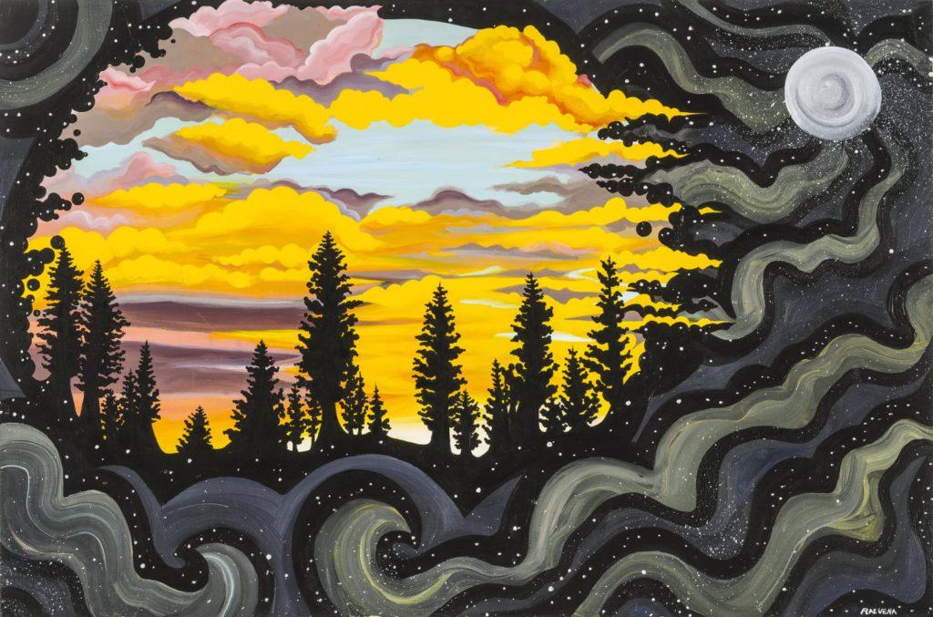 Moonlight Sunrise by Rae Vena