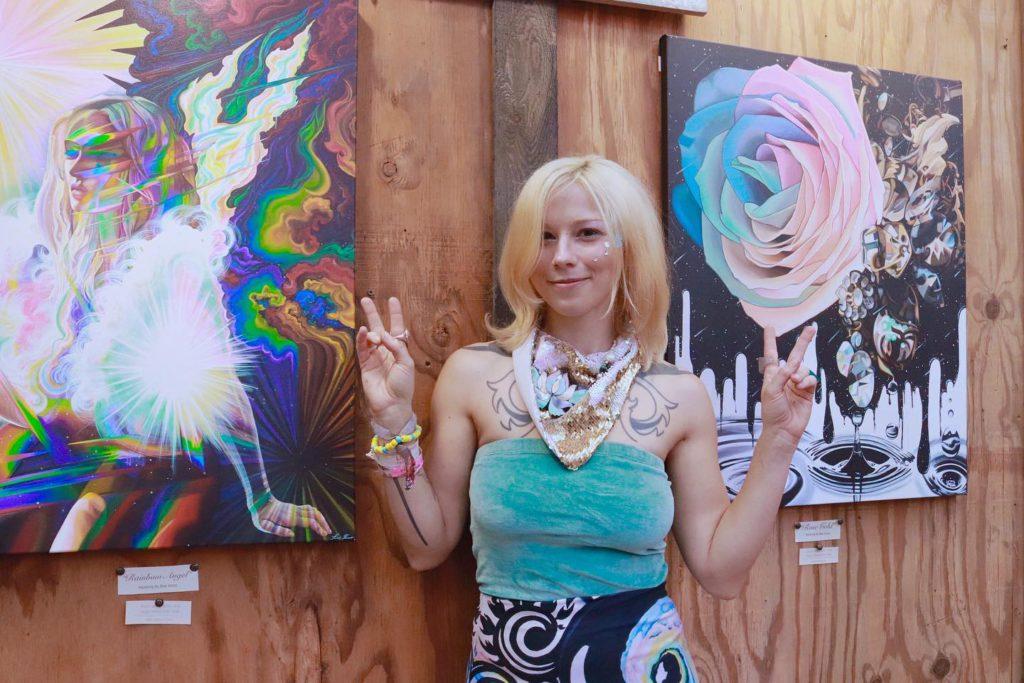 Surreal Artist Rae Vena