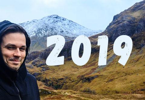 Andrei Verner in Scotland Highlands 2019