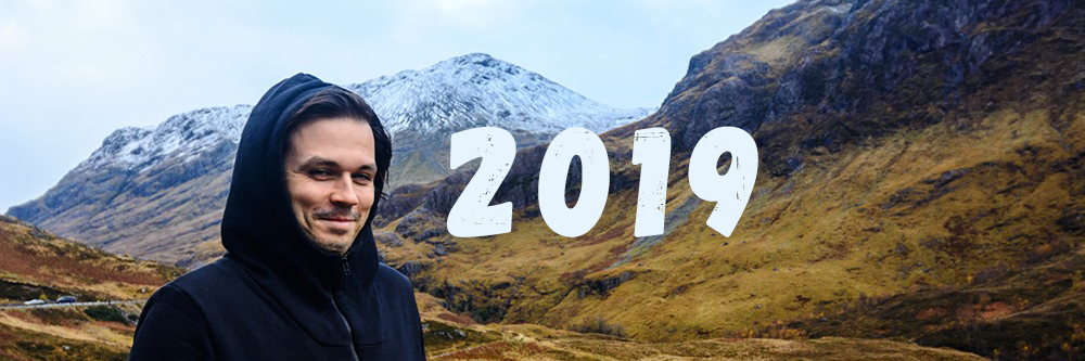 Andrei Verner in Scotland Highlands 2019