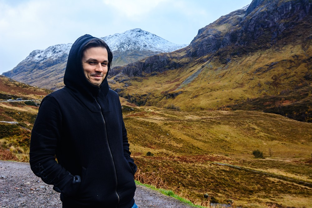 Andrei Verner in Scotland Highlands