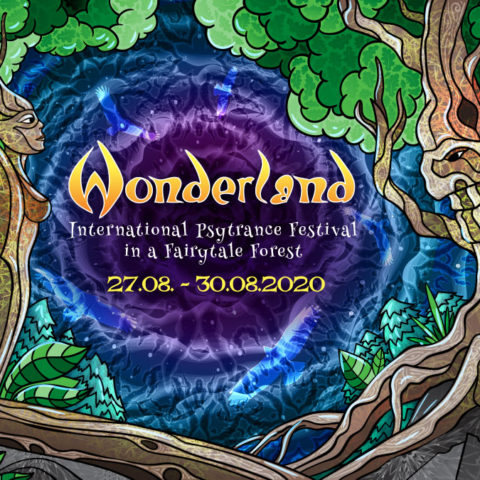 Waldfrieden Wonderland Festival 2020 - Facebook Event Cover - by Andrei Verner