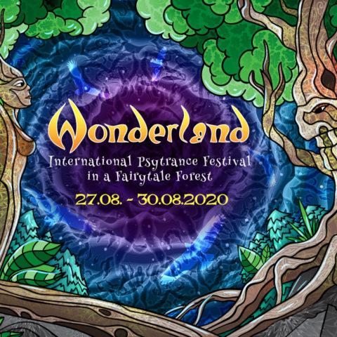 Waldfrieden Wonderland Festival 2020 - Facebook Event Cover - by Andrei Verner