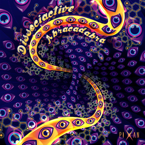 Dissociactive - Abracadabra - Digital EP Cover Art and Design