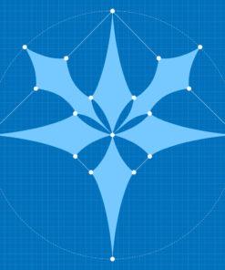 6-petals canopy layout #2