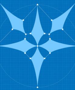 6-petals canopy layout #3