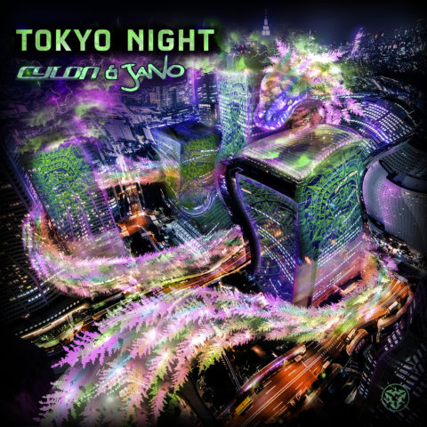 Tokyo Nights Original Mix by Cylon & Jano Psytrance Album Cover Art