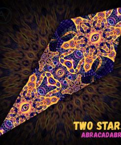 Abracadabra - Psychedelic UV-Reactive Canopy - Petal Design -