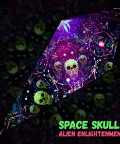 Alien Enlightenment - Psychedelic UV-Reactive Canopy - Petal Design -