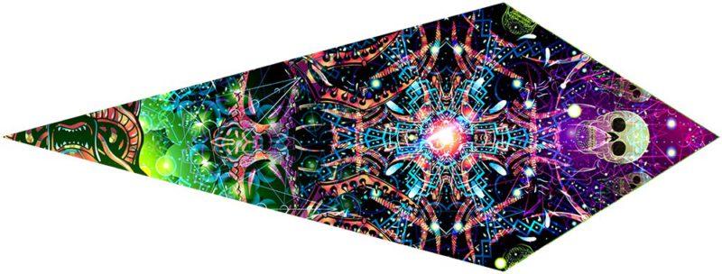 Alien Galaxy Canopy Petal Design