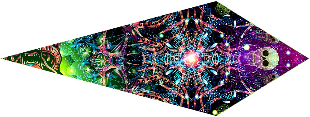 Alien Galaxy Canopy Petal Design