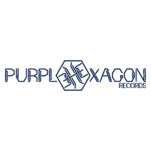Purple Hexagon Records Logo